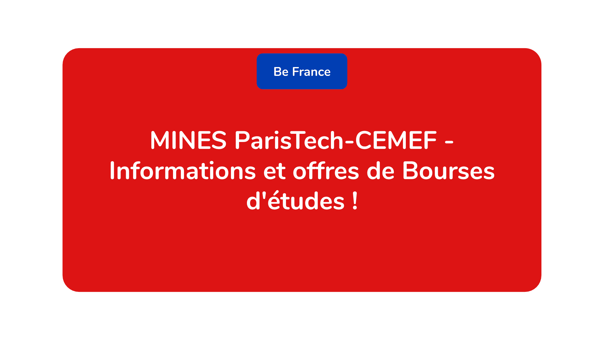 MINES ParisTech-CEMEF